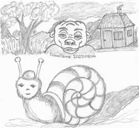 2021-09-16 Doodles house creatures
