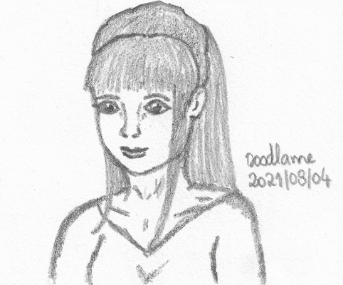 2021-09-22 Girl portrait