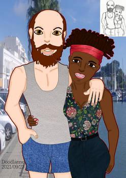 2021-09-23 Cute couple