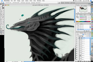 Xainra - WIP by Xainra