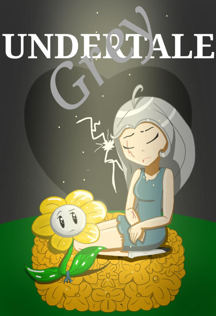 Undertale Grey poster by Marine367