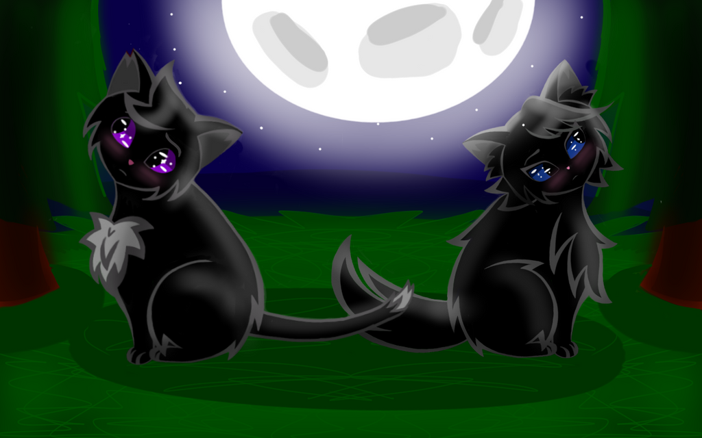 Ravenpaw and Falconeye by Marine367