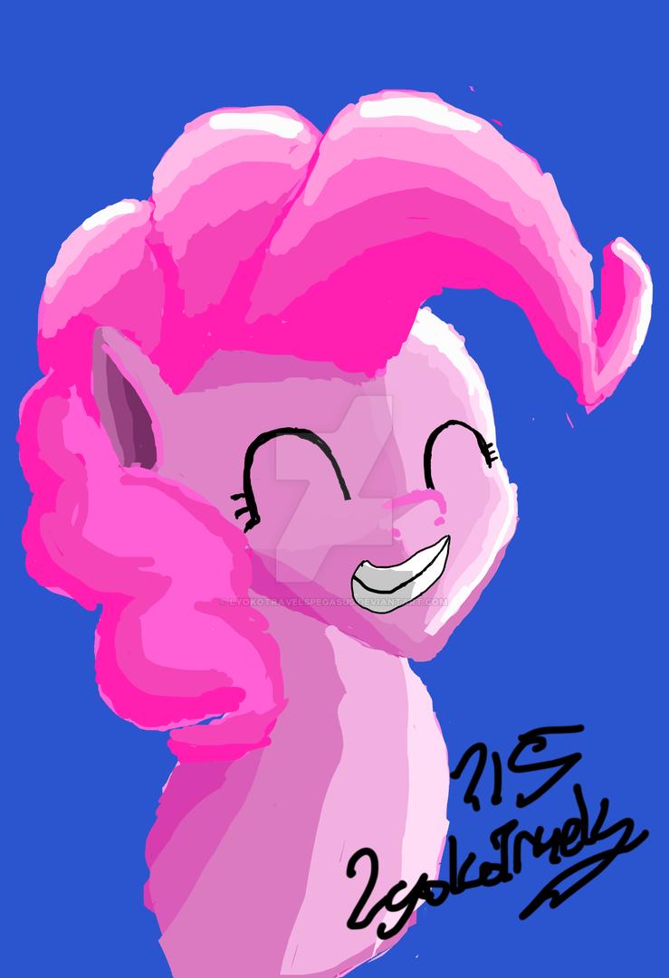 Pinkie Pie by LyokoTravelsPegasus