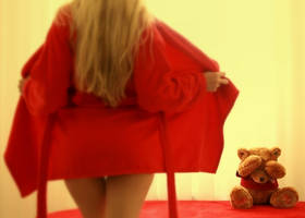 My Teddy is Shy by Slawa