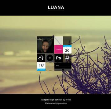 LUANA for Rainmeter by guerrilive