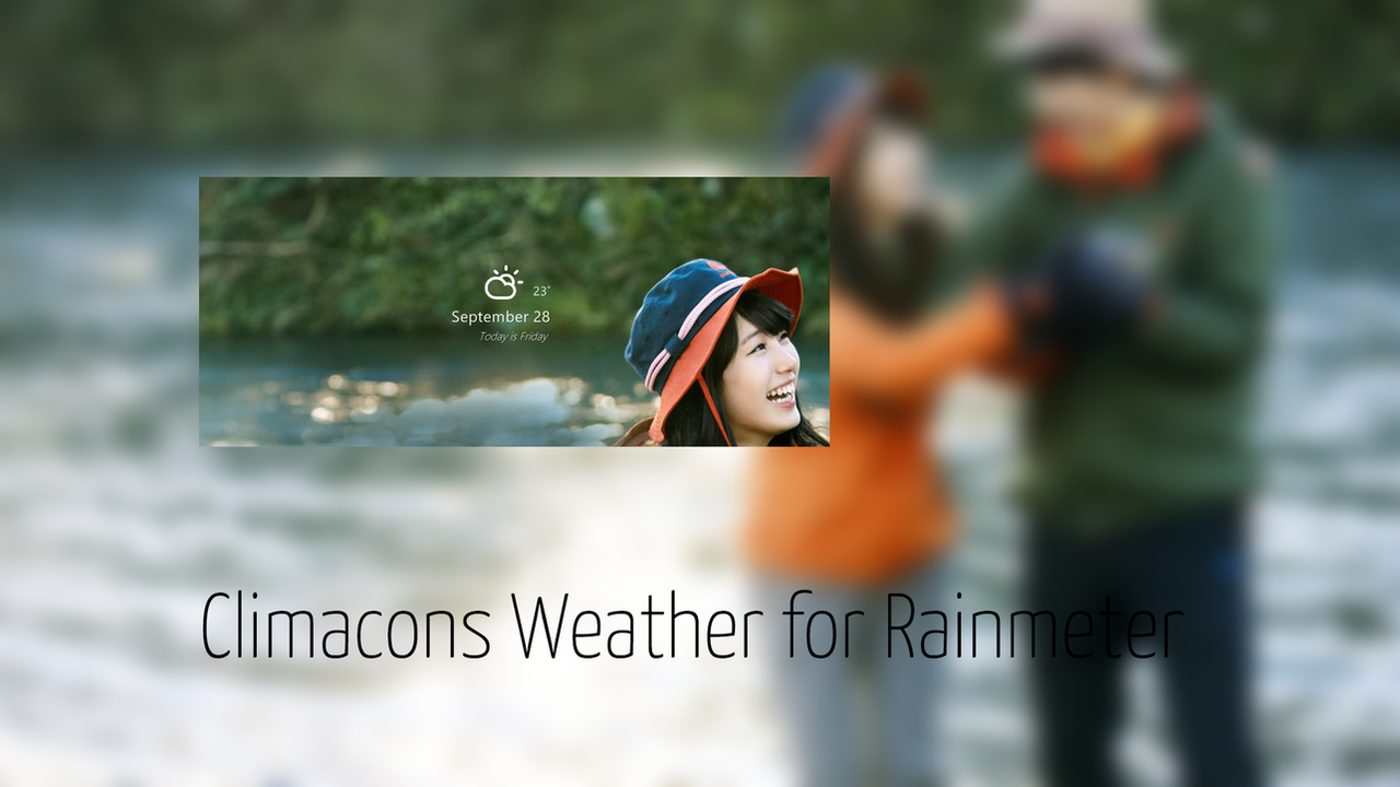 Climacons Weather for Rainmeter by guerrilive