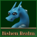 Small Bishen Realm Button - Athena by indyana