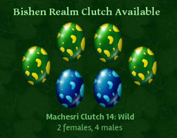 Bishen Realm: Machesri Clutch 14 *CLOSED* by indyana
