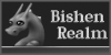 Small Bishen Realm Banner - Athena (Grayscale) by indyana