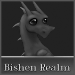 Small Bishen Realm Button - Pierre (Grayscale) by indyana