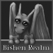 Small Bishen Realm Button - Jarod (Grayscale) by indyana