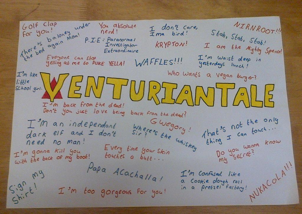VenturianTale Quote Fan Art by Thea-Stark