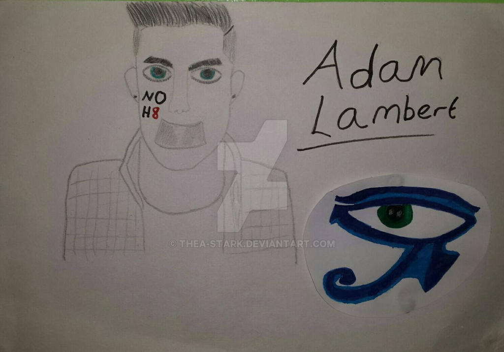 Happy Birthday Adam Lambert! by Thea-Stark on DeviantArt