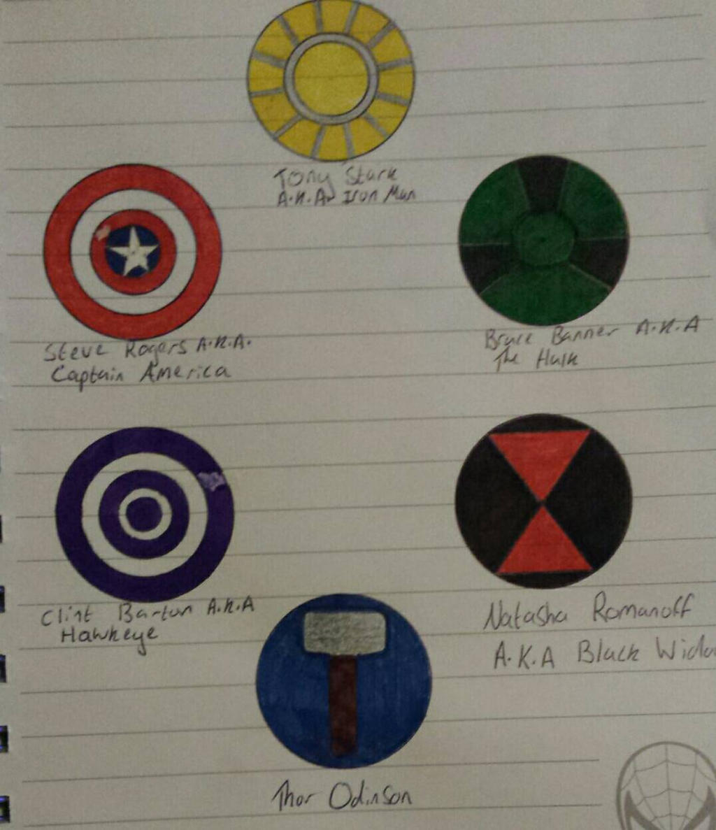 Best Ghost Movies Avengers Logos By Thea Stark On Deviantart