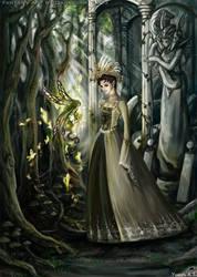 Lost in Fairy Woods by dareevan