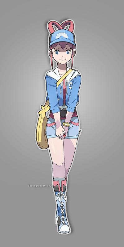 Marina http://foriegnbacon.deviantart.com/art/Pokemon-Trainer-Marina