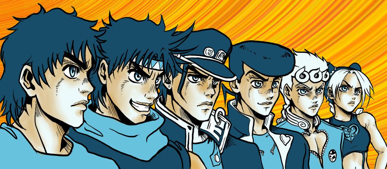 Why i like JoJo's Bizarre Adventure more then DBZ by Mirai