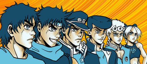 JoJo's Bizarre Adventure by ICEO208