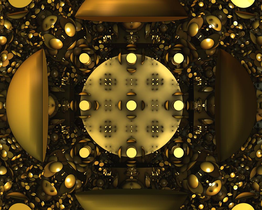 Nine Light Bulbs by MickHogan