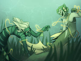 Concept Art Mermay 4: Lake Mermaids