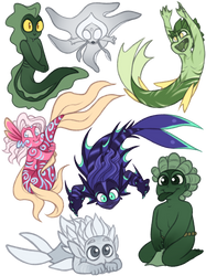 Concept Art Mermay 19: Babies Babies Babies! by TheZodiacLord