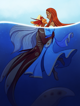 Concept Art Mermay 20: The Little Mermaid by TheZodiacLord