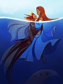 Concept Art Mermay 20: The Little Mermaid