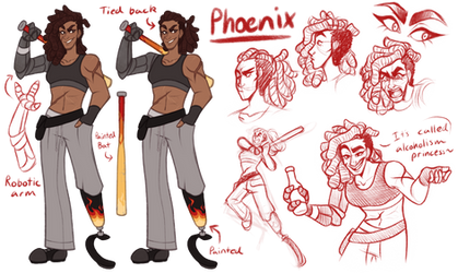 Phoenix Ref by TheZodiacLord