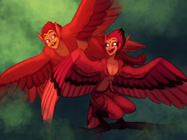 Red Harpies