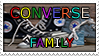 CONVERSE family stamp by Nikonoclaste