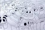 Hmmm doodling
