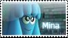 Mina stamp