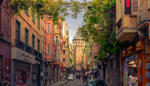 Reaching Galata by T-20-A-20