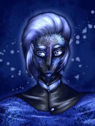 blue guy by annya-yl