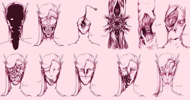 Nwhyn faces
