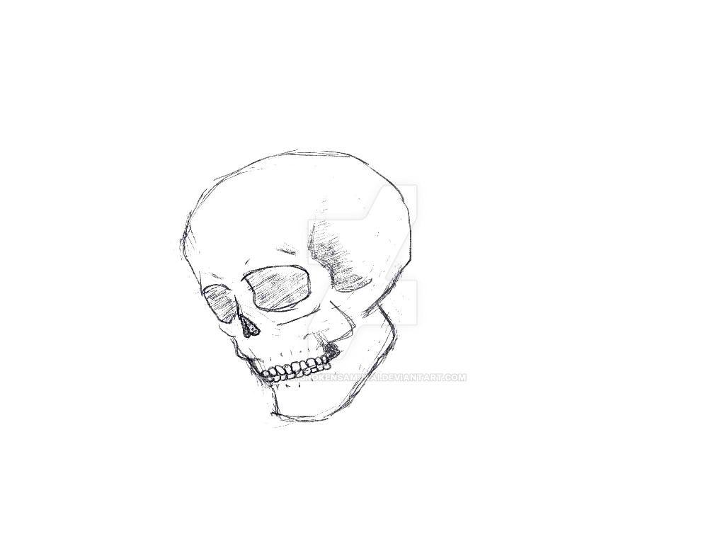 Skull by heartbrokensamurai