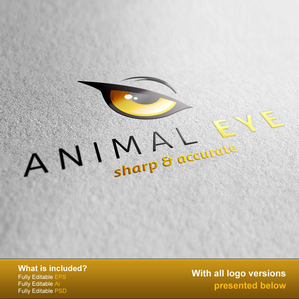 Animal Eye Logo by PVillage
