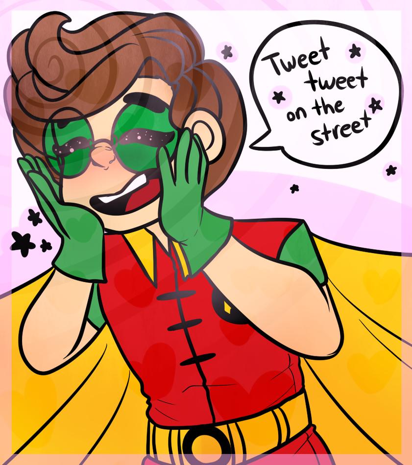 tweet tweet!! by JellyBunBuns