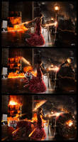 Let Her Burn - Triptych by DISENT