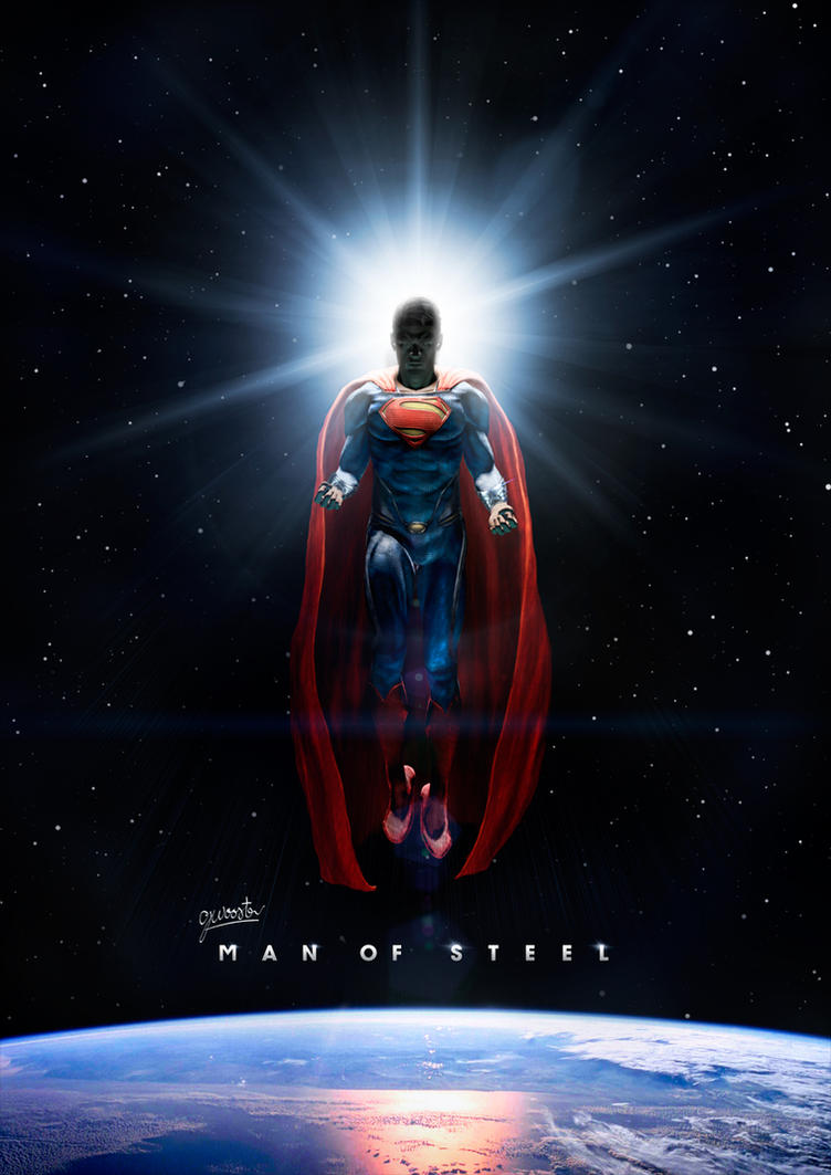 Man Of Steel Poster By DISENT On DeviantArt Flying
