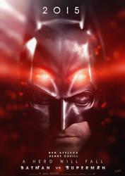 Batman Vs Superman Movie Poster V3