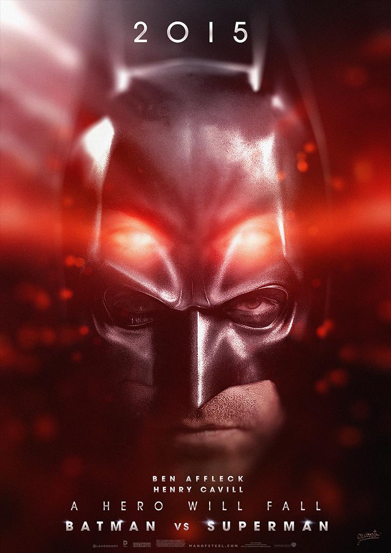 Batman Vs Superman Movie Poster V3 by DISENT