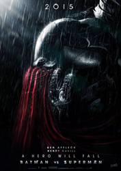 Batman Vs Superman Movie Poster V2.1