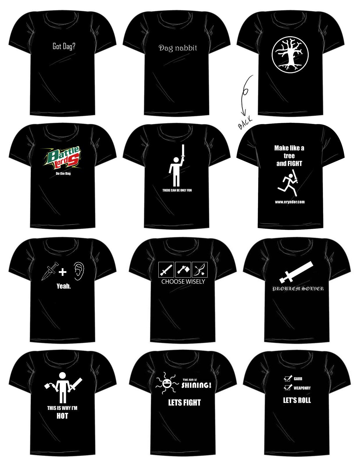 Dag shirts