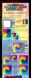 Photoshop Tie Dye Tutorial by S-Hirsack