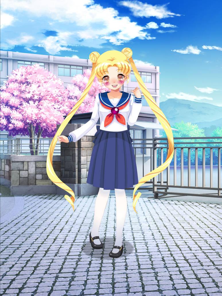 Serena Tsukino by Mysteryguy21