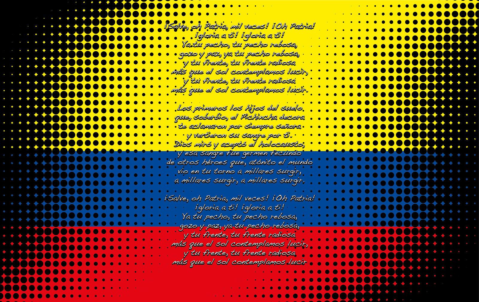 Himno Nacional ECUADOR by patitodark