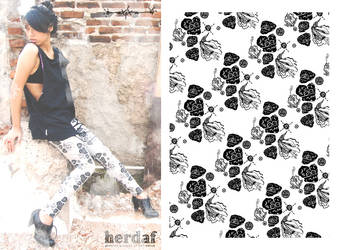 AxixA for herdaf leggings by a-ha-ex