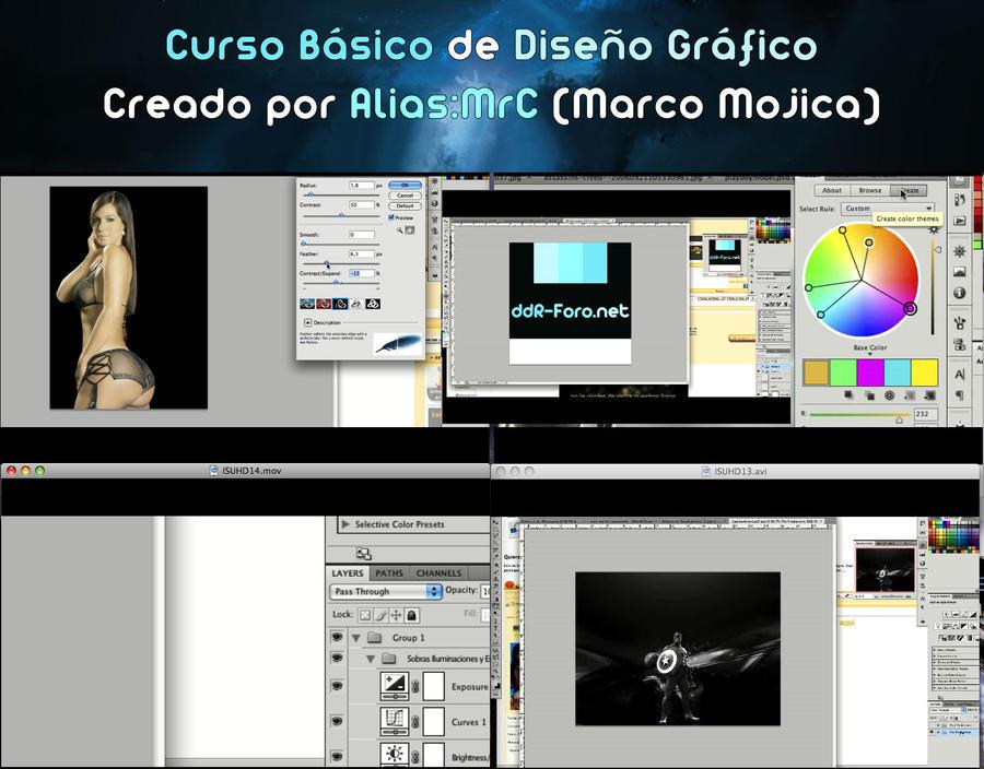 Curso basico de diseno grafico by mrccreativo on deviantart for Curso de diseno grafico
