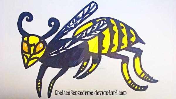 Wasp by ChelseaBenzedrine